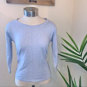 Eileen fisher cashmere and organic cotton sweater